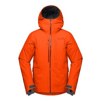 lofoten Gore-Tex insulated Jacket (M) Scarlet Ibi Homme