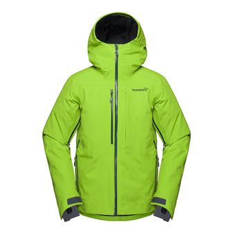 lofoten Gore-Tex insulated Jacket (M) Bamboo Gree Homme
