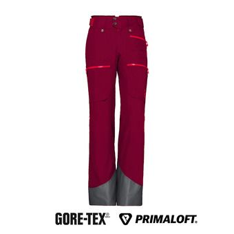 lofoten Gore-Tex insulated Pants (W) Rhubarb Femme