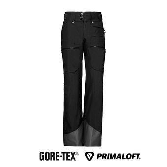 Norrona LOFOTEN GTX - Pantalón de esquí mujer caviar