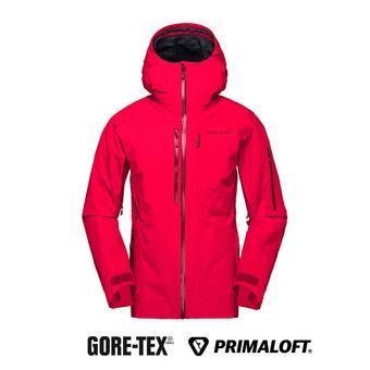 Norrona LOFOTEN GTX - Veste ski Femme crisp ruby