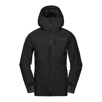 lofoten Gore-Tex insulated Jacket (W) Caviar Femme