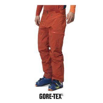 Norrona LYNGEN GTX - Pantalon ski Homme rooibos tea