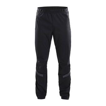 Craft WARM TRAIN - Pantalón hombre black/grey/tran