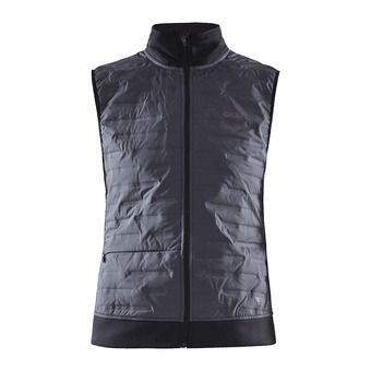 Craft SUBZERO BODY - Hybrid Jacket - Women's - asphalt/black