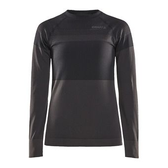 Craft WARM INTENSITY - Camiseta térmica mujer black/titanium