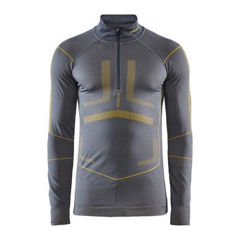 Craft ACTIVE INTENSITY - Camiseta térmica hombre asphalt/buzz