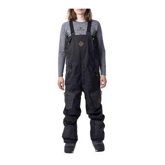 Rip Curl SEARCH - Pantaloni da sci con bretelle Uomo jet black
