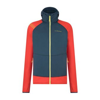 La Sportiva IRIDIUM - Sweat Homme opal/poppy