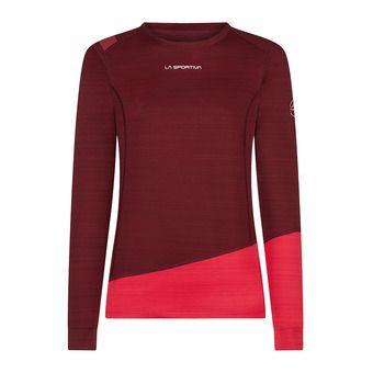 La Sportiva DASH - Camiseta térmica mujer wine/orchid