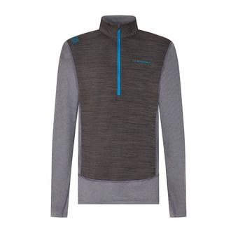 Rook Long Sleeve M Homme Carbon/Neptune