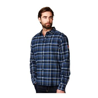 Helly Hansen 1877 FLANNEL SHIRT - Camicia Uomo navy