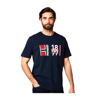 Helly Hansen 1877 T-SHIRT - T-Shirt - Men's - navy