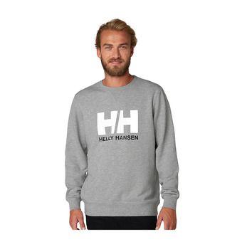 Helly Hansen HH LOGO CREW SWEAT - Sweat Homme grey melange