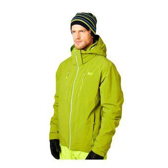 Helly Hansen ALPHA 3.0 - Ski Jacket - Men's - wood green