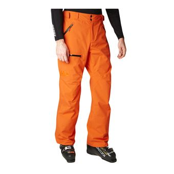 Helly Hansen SOGN CARGO - Ski Pants - Men's - bright orange
