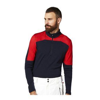 Helly Hansen HH LIFA MERINO 1/2 ZIP - Camiseta térmica hombre navy