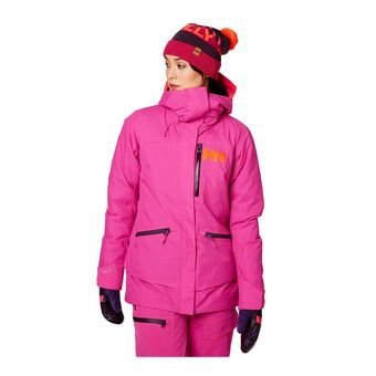 Helly Hansen W SHOWCASE - Ski Jacket - Women's - dragon fruit
