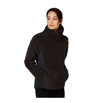 W PRECIOUS PULL OVER FLEECE Femme EBONY