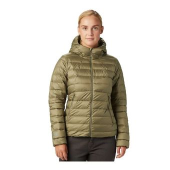 Mountain Hardwear RHEA RIDGE HOODY - Down Jacket - Women's - light army