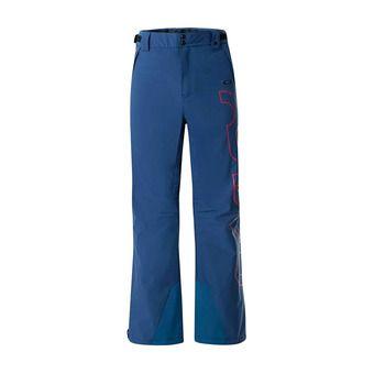 Oakley CEDAR RIDGE INSULA 2L 10K - Pantaloni da sci Uomo poseidon