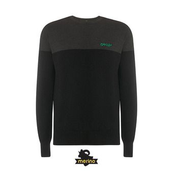 Oakley FS CREW TECH KNIT - Jersey hombre blackout