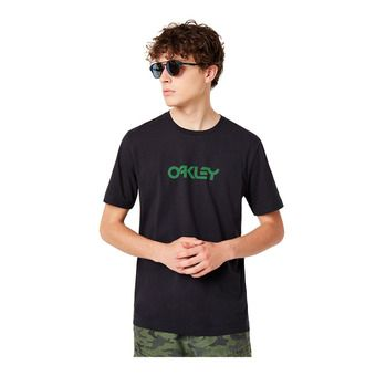 Oakley ALLOVER LOGO - Tee-shirt Homme blackout