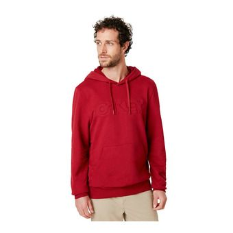 Oakley EMBOSSED GRAPHIC - Sweat Homme rapsberry