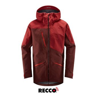 Nengal 3L PROOF Parka Men Maroon Red/Brick Red Homme