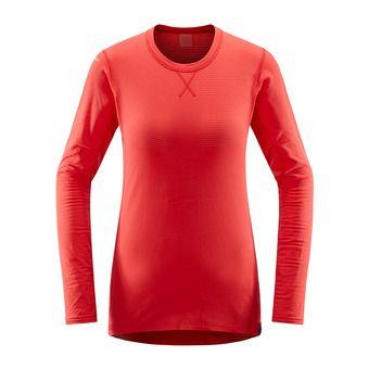 Haglofs L.I.M MID - Sous-couche Femme hibiscus red