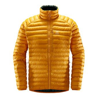 Haglofs ESSENS MIMIC - Down Jacket - Men's - desert yellow/mineral