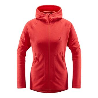 Haglofs HERON - Fleece - Women's - hibiscus red