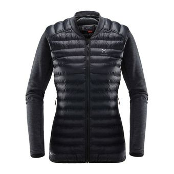 Mimic Hybrid Jacket Women True Black/Magnetite Femme