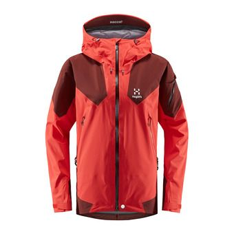 Roc Spire Jacket Women Hibiscus Red/Maroon Red Femme