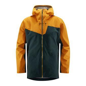 Haglofs STIPE - Chaqueta de esquí hombre mineral/desert yellow