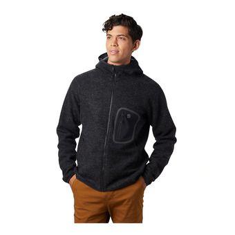 Mountain Hardwear HATCHER ZIP HOODY - Sweatshirt - Men's - black
