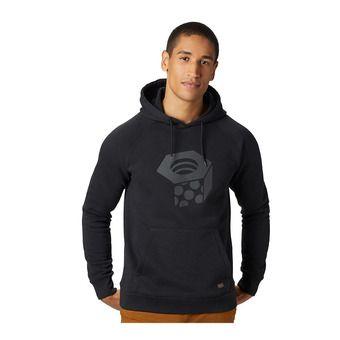 Mountain Hardwear LOGO HARDWEAR HOODY - Felpa Uomo black
