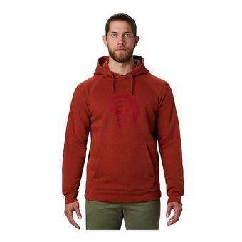 Mountain Hardwear LOGO HARDWEAR HOODY - Sweatshirt - Men's - rusted