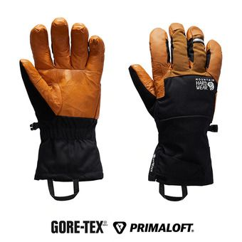 Mountain Hardwear EXPOSURE LIGHT GTX - Guantes black