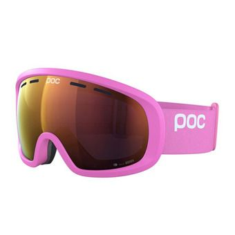 Poc FOVEA MID CLARITY - Masque ski actinium pink/spektris orange