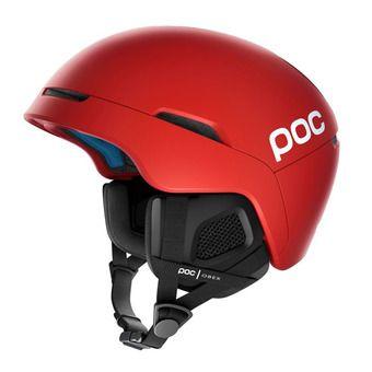 Poc OBEX SPIN - Casco de esquí prismane red