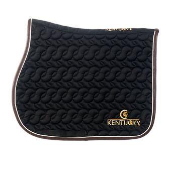 Kentucky 42506 - Tapis mixte noir/blanc/brun