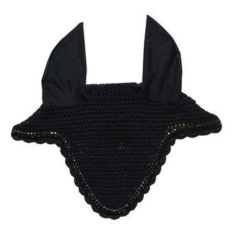 Bonnet anti-mouche long stone & pearl soundless noir Unisexe noir