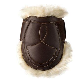 Protège boulet cuir Mouton marron Unisexe marron
