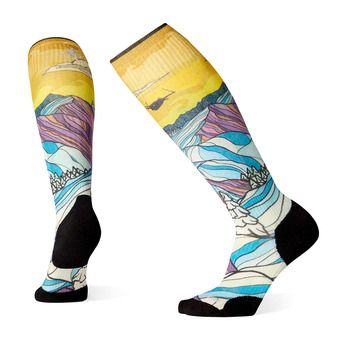 Smartwool PHD LIGHT ELITE - Chaussettes ski Femme afterglow multicolor
