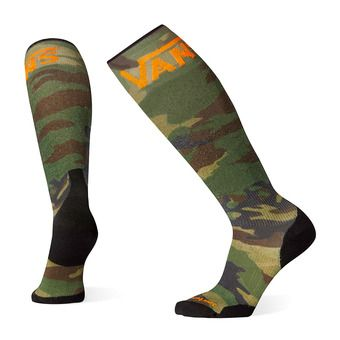 Smartwool PHD VANS WOODLAND LIGHT ELITE - Chaussettes snow camo print