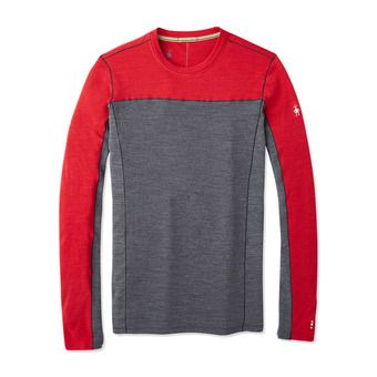 M MS 250 LS Crw Homme CHILI PEPPER HEATHER
