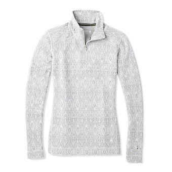 Smartwool MERINO 250 ZIP - Camiseta térmica mujer pattern ash madellion