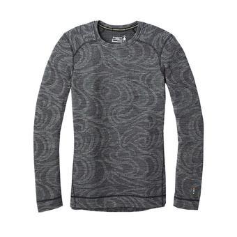 Smartwool MERINO 250 - Maglia termica Donna pattern black snow swirl