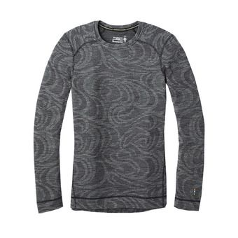 Smartwool MERINO 250 - Sous-couche Femme pattern black snow swirl